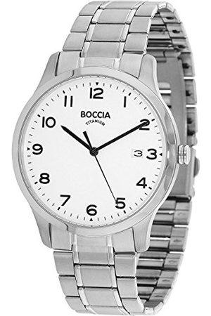 Boccia Herr analog kvartsklocka med titanarmband 3620–01