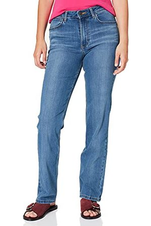 Wrangler Kvinnors höga raka jeans, stockton, 30/33