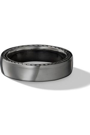 David Yurman Man Ringar - 6mm streamline band ring