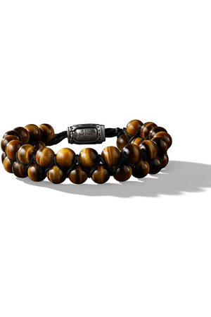 David Yurman Man Armband - 8mm Spiritual Beads two-row tiger eye bracelet