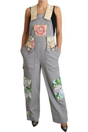 Dolce & Gabbana Kvinna Jeans - Overalls Jeans Crystal Hortensia