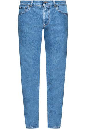 Dolce & Gabbana Logo-appliquéd jeans