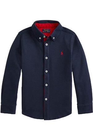 Ralph Lauren Polo Skjorta - Classics - Marinblå
