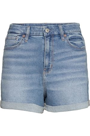 AMERICAN EAGLE Ae Stretch Curvy Denim Mom Shorts Shorts Denim Shorts