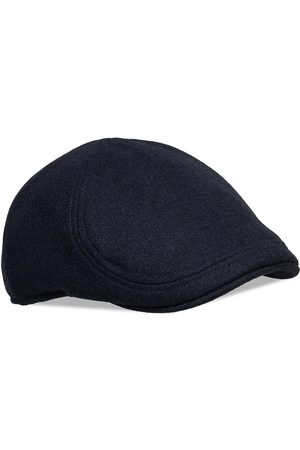 Wigens Pub Cap Accessories Headwear Flat Caps Svart