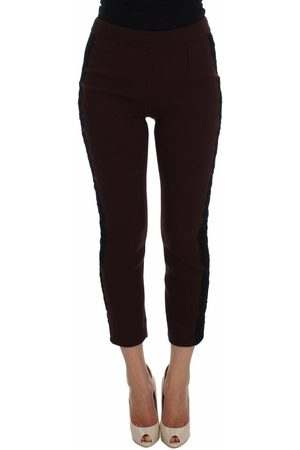 Dolce & Gabbana Torero Stretch Slim Capri Pants