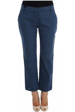 Dolce & Gabbana Polka Dotted Stretch Capri Jeans