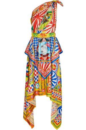 Dolce & Gabbana Kvinna Asymmetriska klänningar - Asymmetric one-shoulder dress