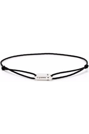 Le Gramme Armband - Logo capsule cord bracelet