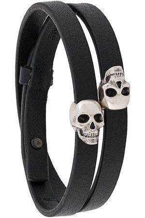 Northskull Man Armband - Omlottarmband med dödskalle