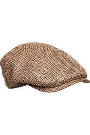 Wigens Ivy Piece Cap Accessories Headwear Flat Caps Blå