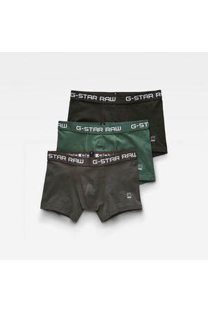 G-Star Men Classic Trunks 3-Pack Green