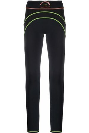 Karl Lagerfeld Technical leggings featuring contrast stitching
