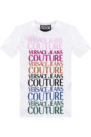 Versace Jeans Couture Logo-printed T-shirt