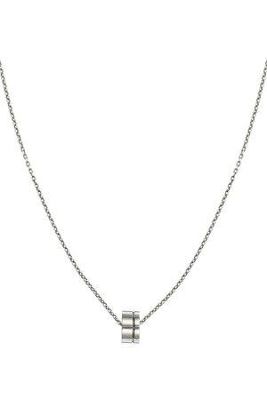 Christofle Man Halsband - Graphik halsband i sterlingsilver