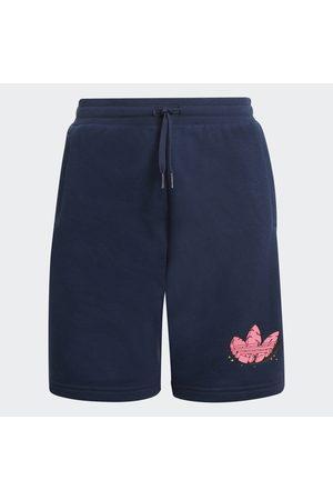 adidas Barn Shorts - Funny Dino Graphic Shorts