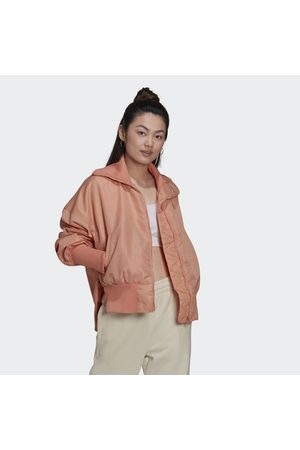 adidas Kvinna Bomberjackor - Elongated Rib Bomber Jacket