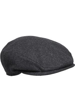 Wigens Ivy Slim Cap Accessories Headwear Flat Caps Svart
