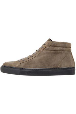 Bianco Biaajay Höga Sneakers Man