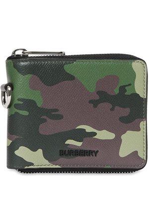 Burberry Kamouflagemönstrad plånbok