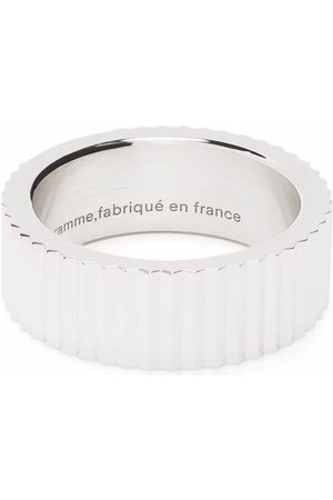 Le Gramme Guilloché ring med vertikalt band