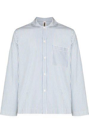 Tekla Randig pyjamasskjorta