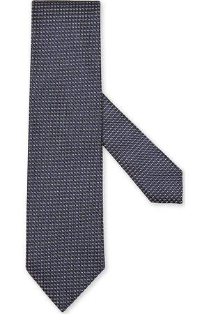 Ermenegildo Zegna Silk patterned-jacquard tie