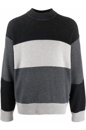 Z Zegna Man Stickade tröjor - Randig stickad tröja