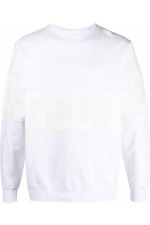 GCDS Sweatshirt med logotyp