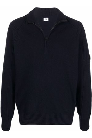 C.P. Company Zipped knitted jumper