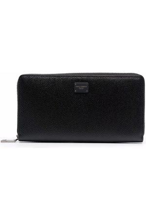 Dolce & Gabbana Textured zip-around wallet