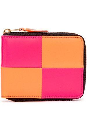 Comme Des Garçons Wallet Bold-check zip-around wallet