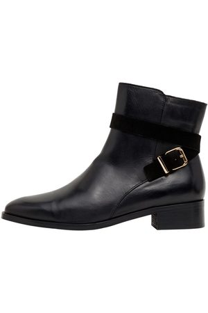 Bianco Kvinna Boots - Biadaja Läderboots Kvinna