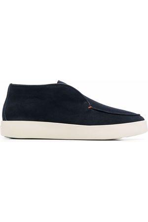 santoni Ballroom leather loafers