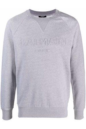 Balmain Raised-logo sweatshirt