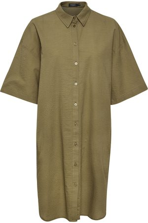 Soaked in Luxury Kvinna Tunika klänningar - File Tunic Dress
