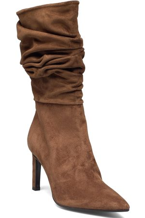 Billi Bi Booties Shoes Boots Ankle Boots Ankle Boot - Heel Brun
