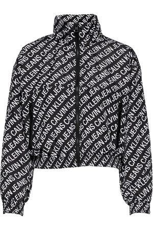 Calvin Klein Aop Packable Hood Windbreaker Sommarjacka Tunn Jacka