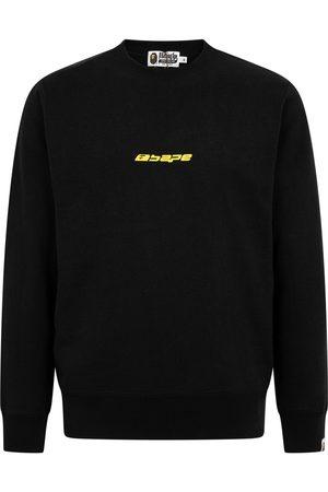 A Bathing Ape Logo-print crewneck sweatshirt