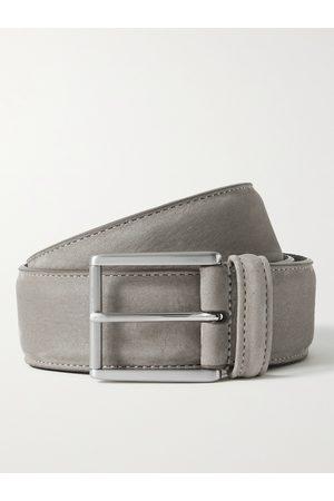 Anderson's Man Bälten - 4cm Suede Belt