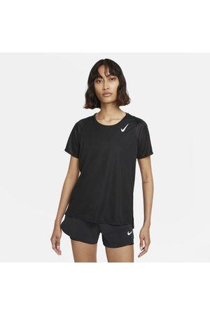 Nike Kortärmad löpartröja Dri-FIT Race för kvinnor