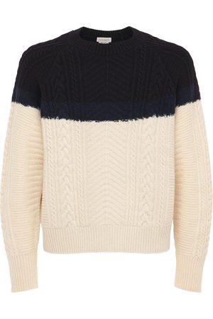 Alexander McQueen Wool Blend Knit Sweater