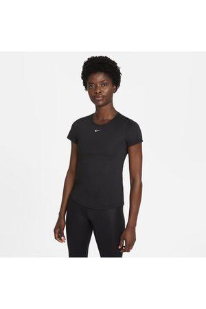 Nike Kortärmad tröja med smal passform Dri-FIT One för kvinnor