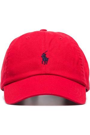 Polo Ralph Lauren Man Kepsar - Logo-embroidered cotton cap