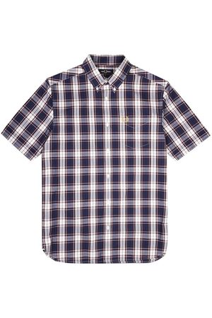 Fred Perry Authentic Button Down Short Sleeve Check Shirt