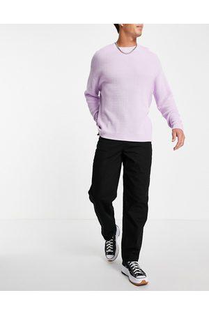 ASOS – No Fade – Svarta baggy jeans- /a