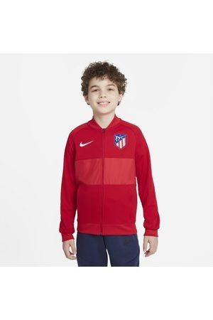 Nike Fotbollsträningsjacka med dragkedja Atlético Madrid för ungdom