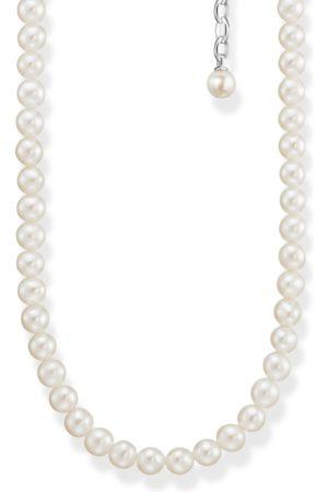 Thomas Sabo Kvinna Halsband - Halsband pärlor silver