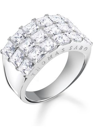 Thomas Sabo Ring stenar pavé silver