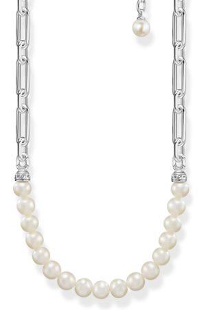 Thomas Sabo Kvinna Halsband - Halsband länkar och pärlor silver